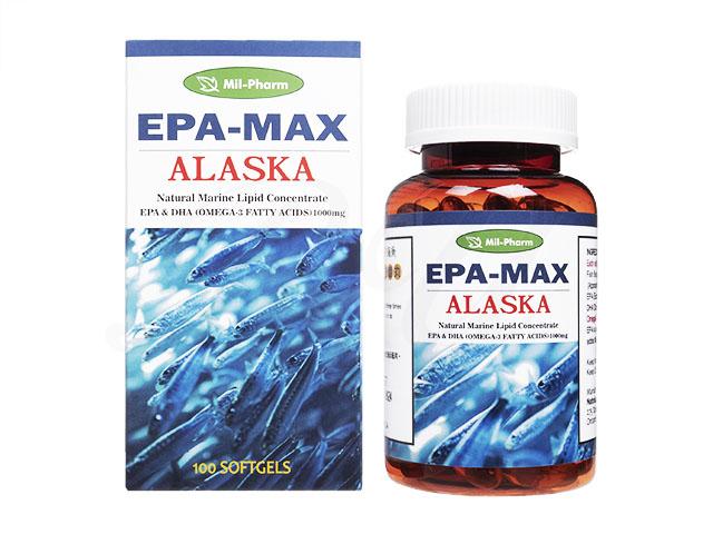 EPAMAXアラスカフィッシュオイル1000mg