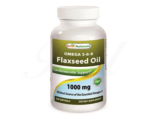 フラックスシードオイル(Omega 3-6-9 Flaxseed Oil)