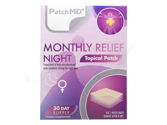 (月経前症候群緩和・夜用) PMSナイトリリーフ30パッチ