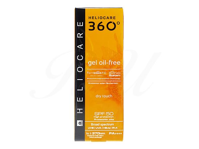 【ヘリオケア360】ジェルオイルフリーSPF50