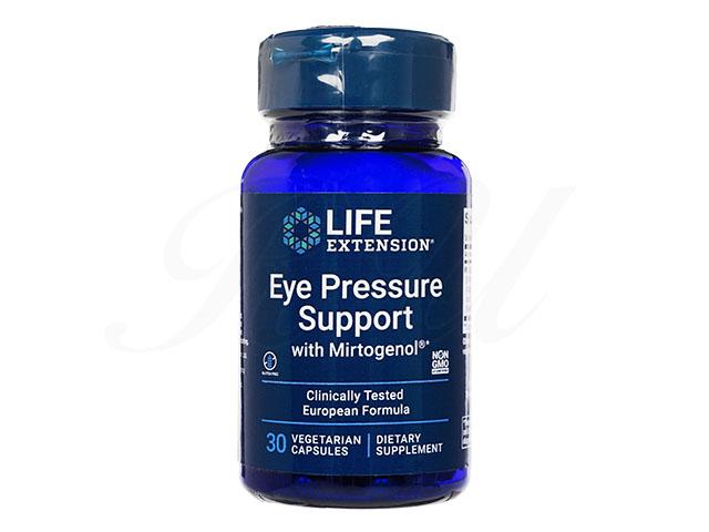 アイプレッシャーサポート(EyePressureSupportWithMirtogenol)[LifeExtension社製]